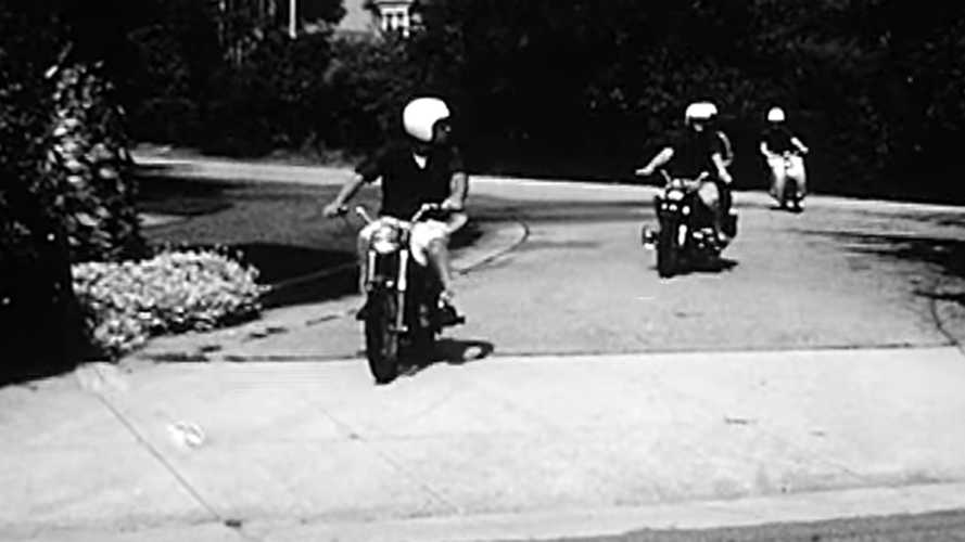 This 1965 AMA Motorcycle Safety Video Is Wildly Mild