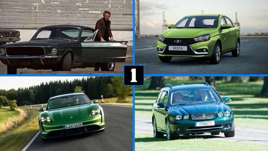 7 оттенков зелёного: автомобили к празднику клевера и рыжих