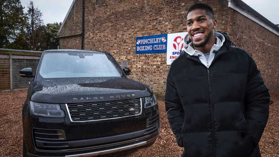Check out Anthony Joshua's Range Rover