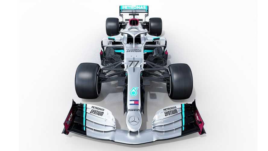 F1, Mercedes W11: il primo scatto della freccia d'argento