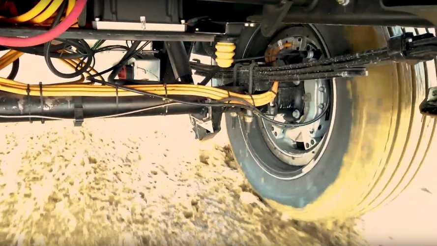 Lordstown Teases Endurance Truck's In-Wheel Motor In Action