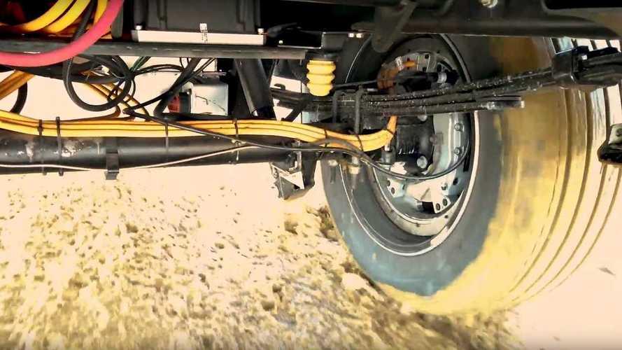 Lordstown Teases Endurance Truck's In-Wheel Motor In Action
