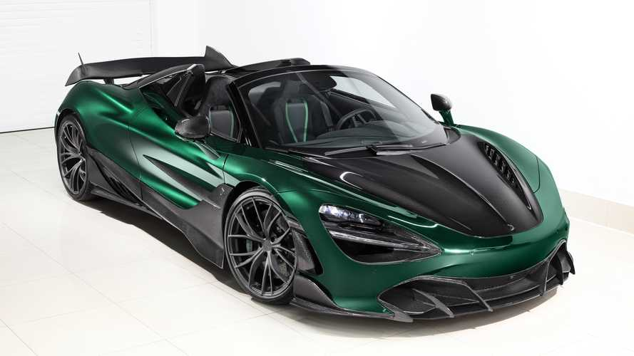 McLaren 720S Spider Fury by TopCar gets a dose of carbon fibre