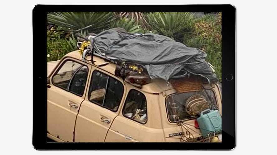 Viaggio per mezza Italia con la Renault 4 in cerca di alloggio