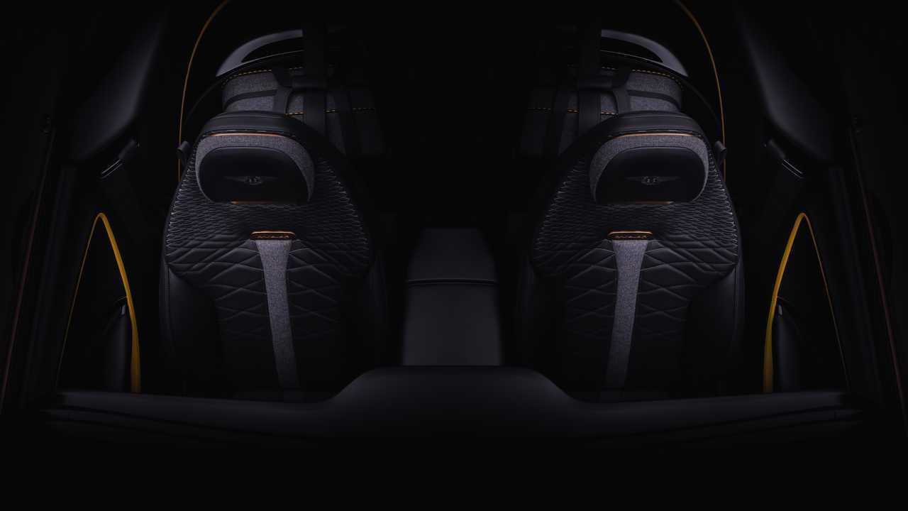 Bentley Mulliner Bacalar Teaser muestra un elegante interior de dos asientos 38