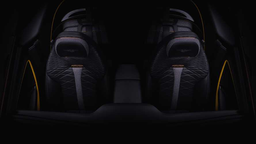 Bentley Mulliner Bacalar Teaser Shows Fancy Two-Seat Interior