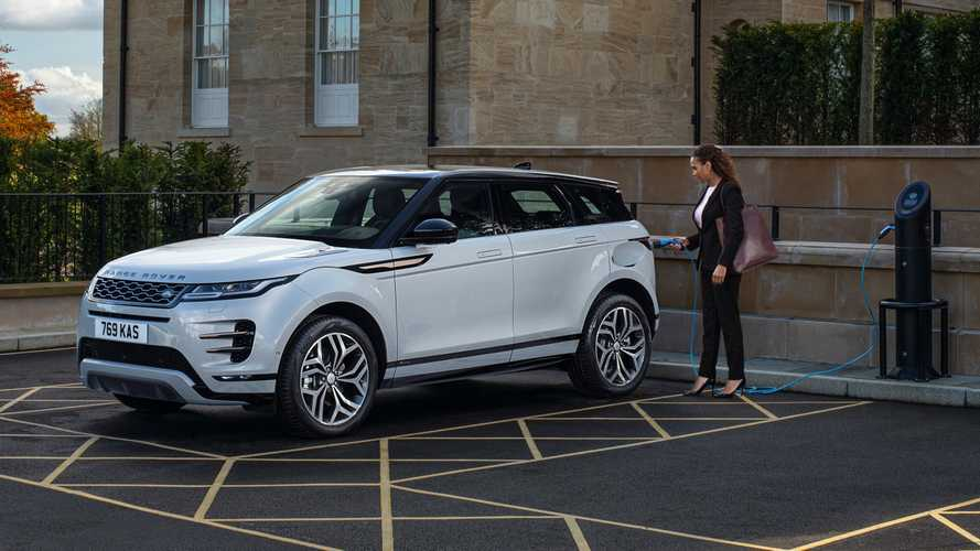 Range Rover Evoque e Discovery Sport, arrivano gli ibridi plug-in