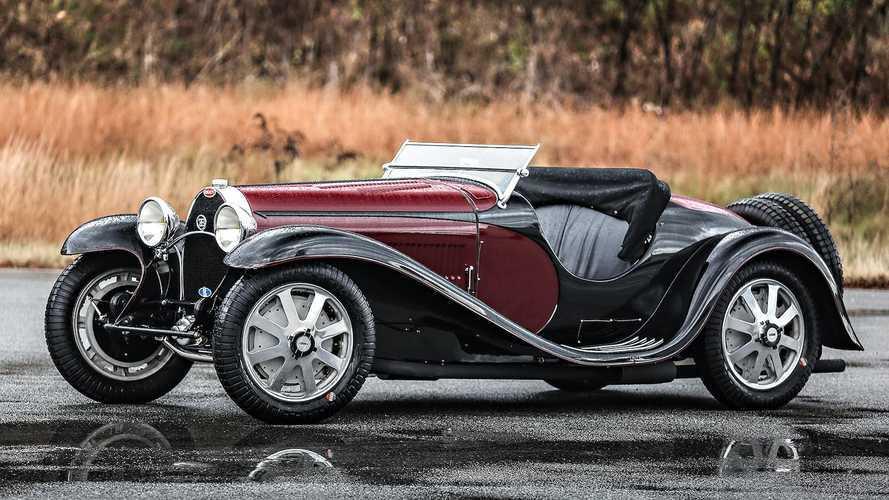 First ever Bugatti Type 55 at Scottsdale