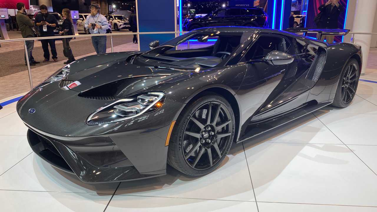 2020 Ford GT Liquid Carbon Edition
