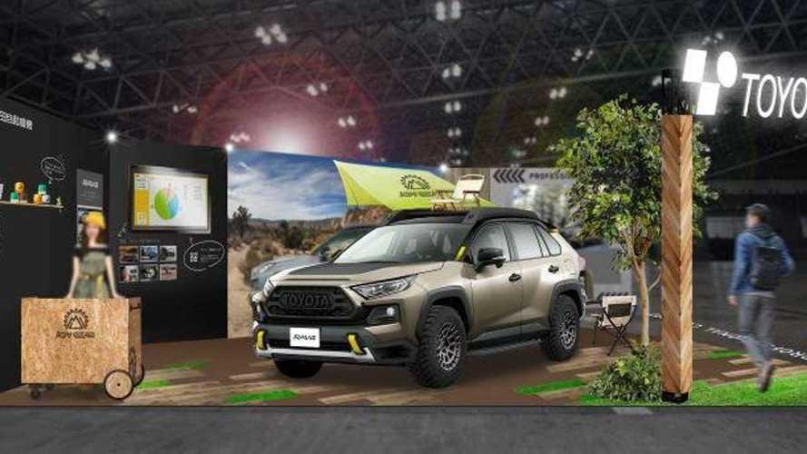 Toyota mostrará RAV4 com apelo mais aventureiro em janeiro