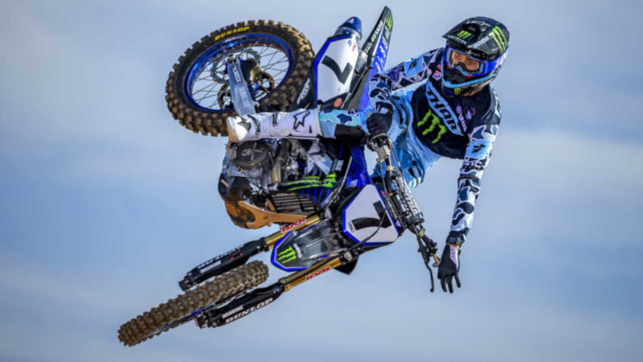 AMA Supercross Rider Aaron Plessinger