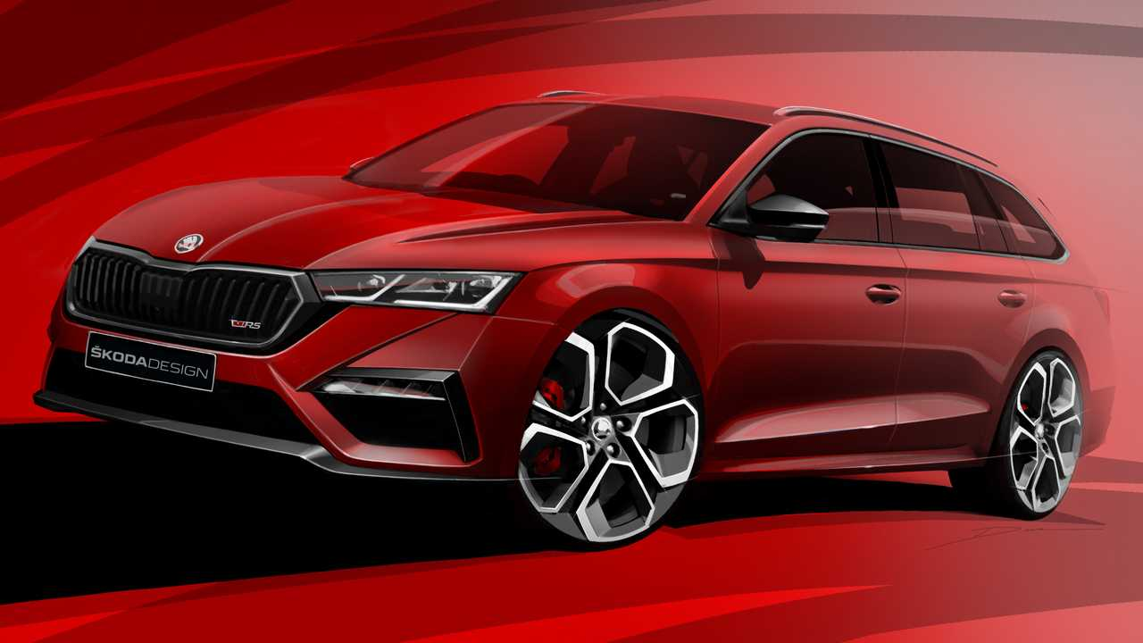 Plug In Hybrid Cars >> Skoda Octavia RS iV Hatchback And Wagon Teased, Will Have ...