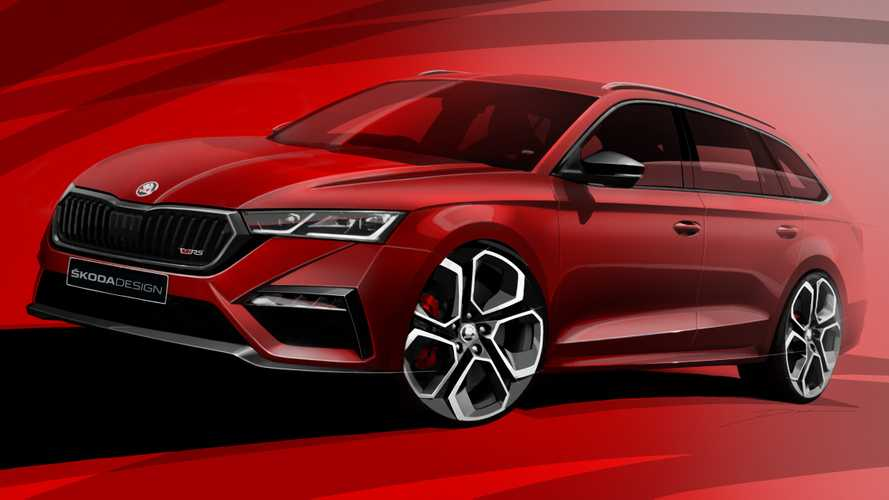Skoda Octavia RS iV Hatchback And Wagon Teased, Will Have 241 HP