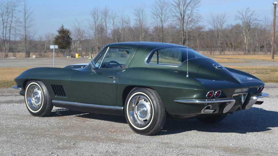 Award-Winning 1967 Chevrolet Corvette Is All-Original, Unrestored
