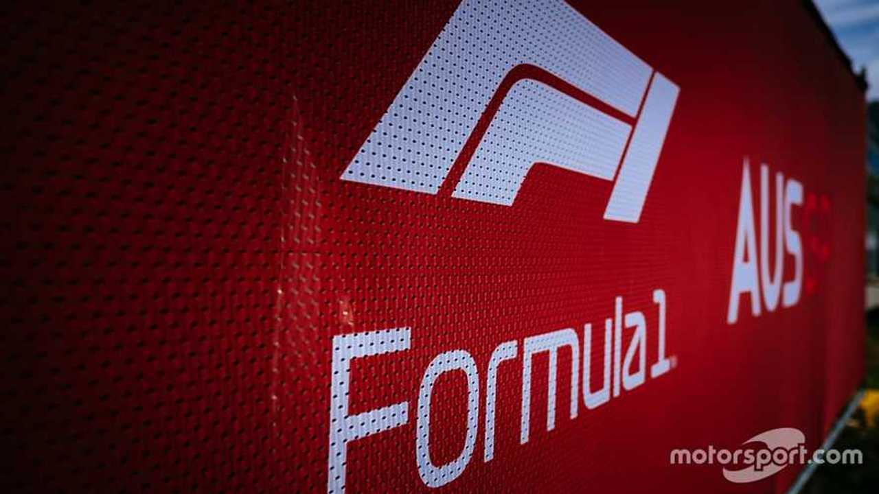 F1 logo at Australian GP 2020