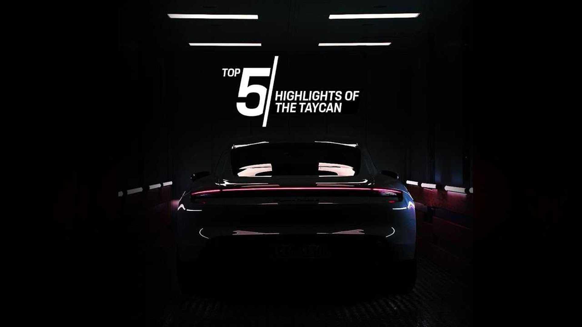 Porsche Top 5 series focuses on Taycan