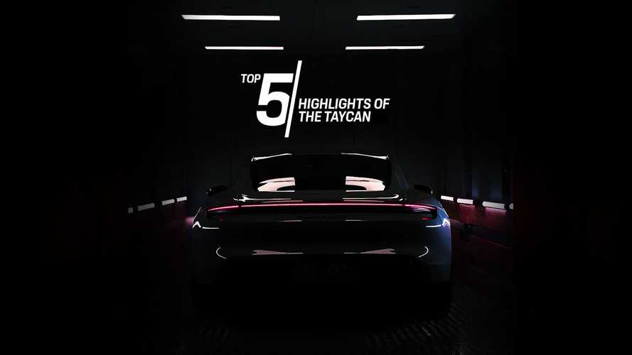 Porsche Top 5 series focuses on Taycan