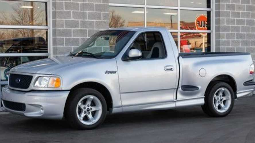 Check Out This Super Low Mileage 2000 SVT Ford Lightning