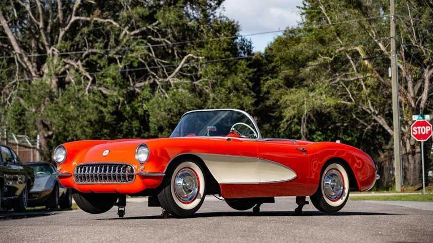 Buy A Life-Size 1957 Chevrolet Corvette Model For $15K