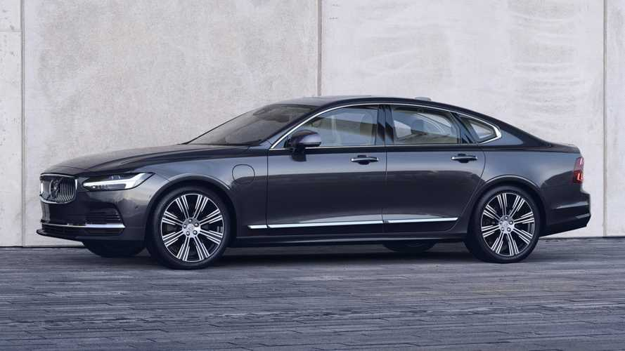 2021 Volvo S90, V90 Debut With Mild-Hybrid Tech, Subtle Facelift
