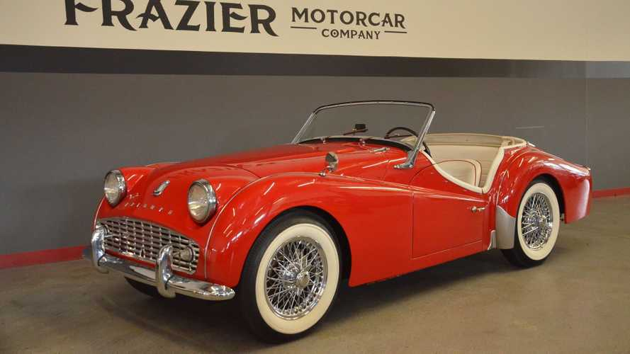 Keep It Classy In A Rare, Restored 1962 Triumph TR3 B Roadster