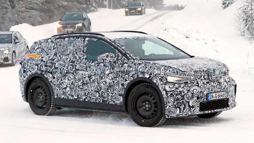 Audi Q4 e-tron als Erlkönig: Neuling in der Karosserie des VW ID.4