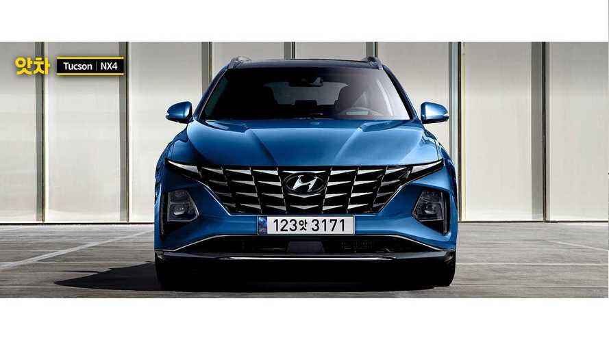 Hyundai Tucson 2020: render de un SUV muy original