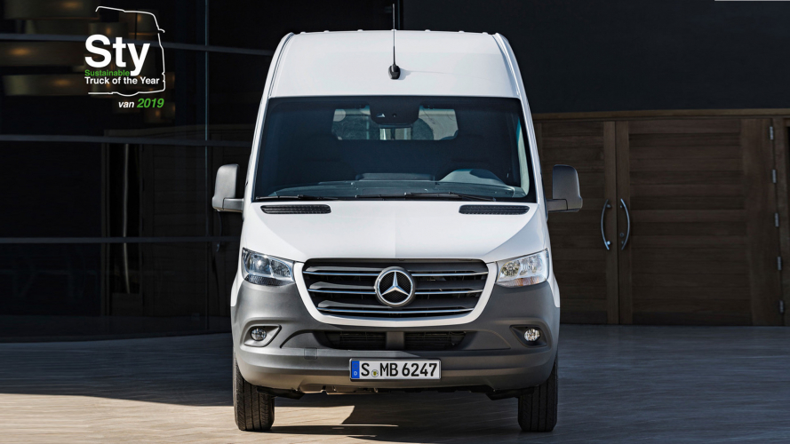 A Mercedes Sprinter il premio come van sostenibile 2019