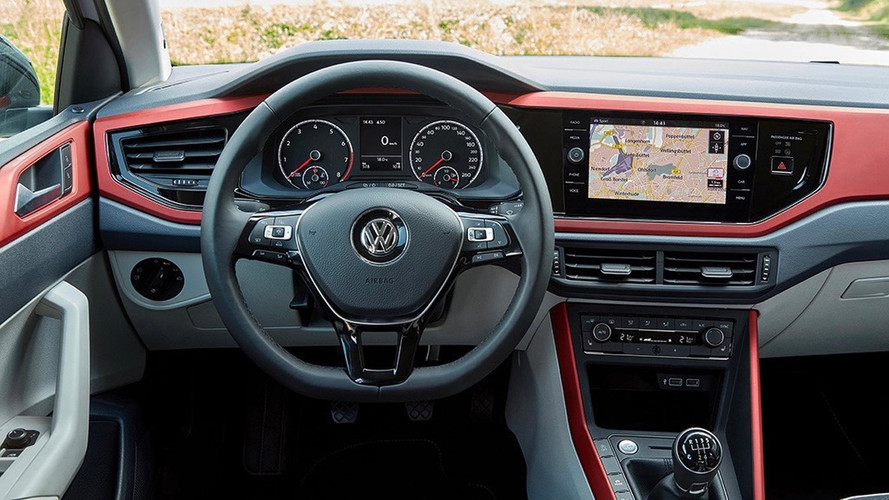 2018 Volkswagen Polo interior