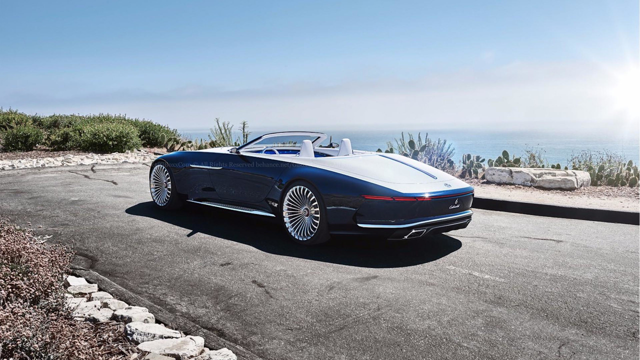 Vision Mercedes-Maybach 6 Cabriolet Production Concept
