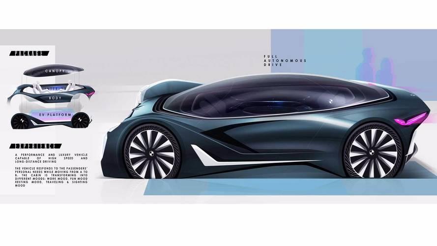 BMW Vision Grand Tourer - Glorin Tsiourea