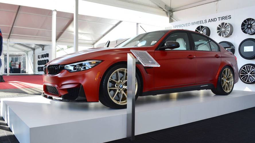 Bmw M3 30 Years American Edition Gets Red White Blue Interior