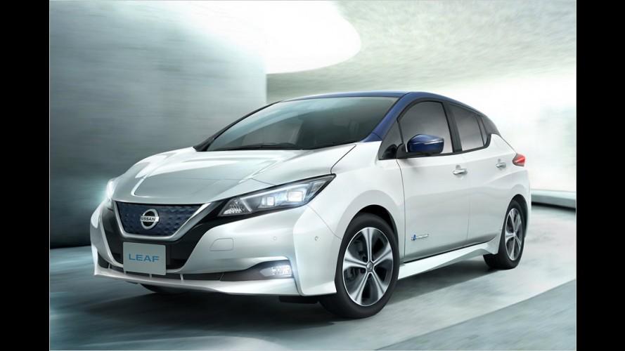 Nissan Leaf (2017) mit deutlich mehr Reichweite