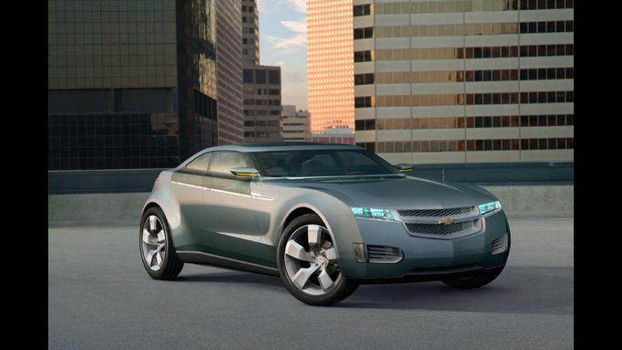 Chevrolet Volt: 10.000 esemplari il primo anno