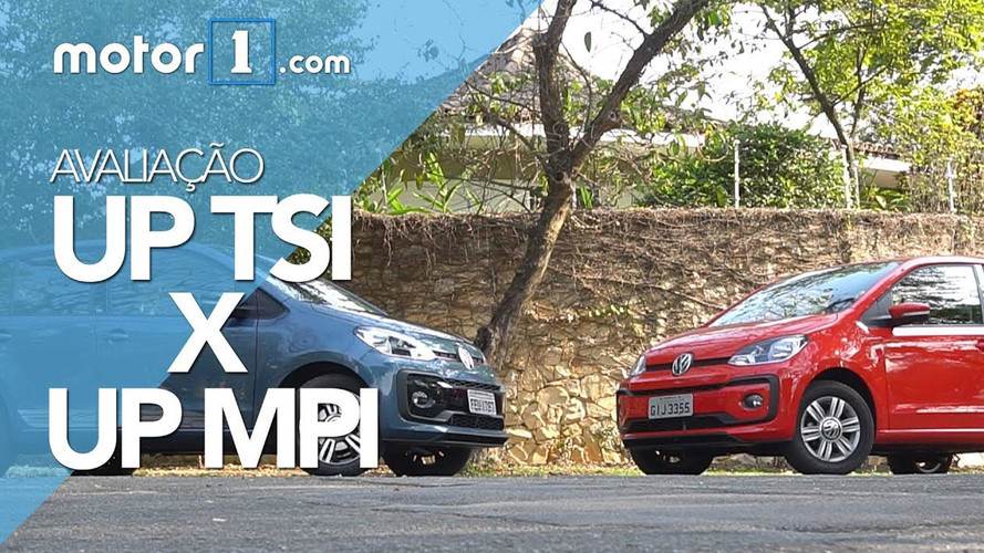 Vídeo - Comparativo VW Up! MPI aspirado encara Up! TSI turbo