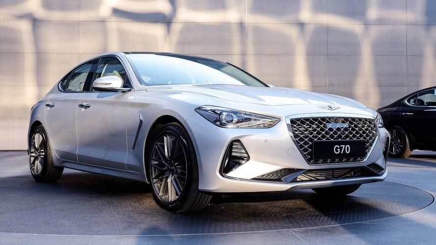 Conheça o novo Genesis G70, o coreano rival do BMW Série 3