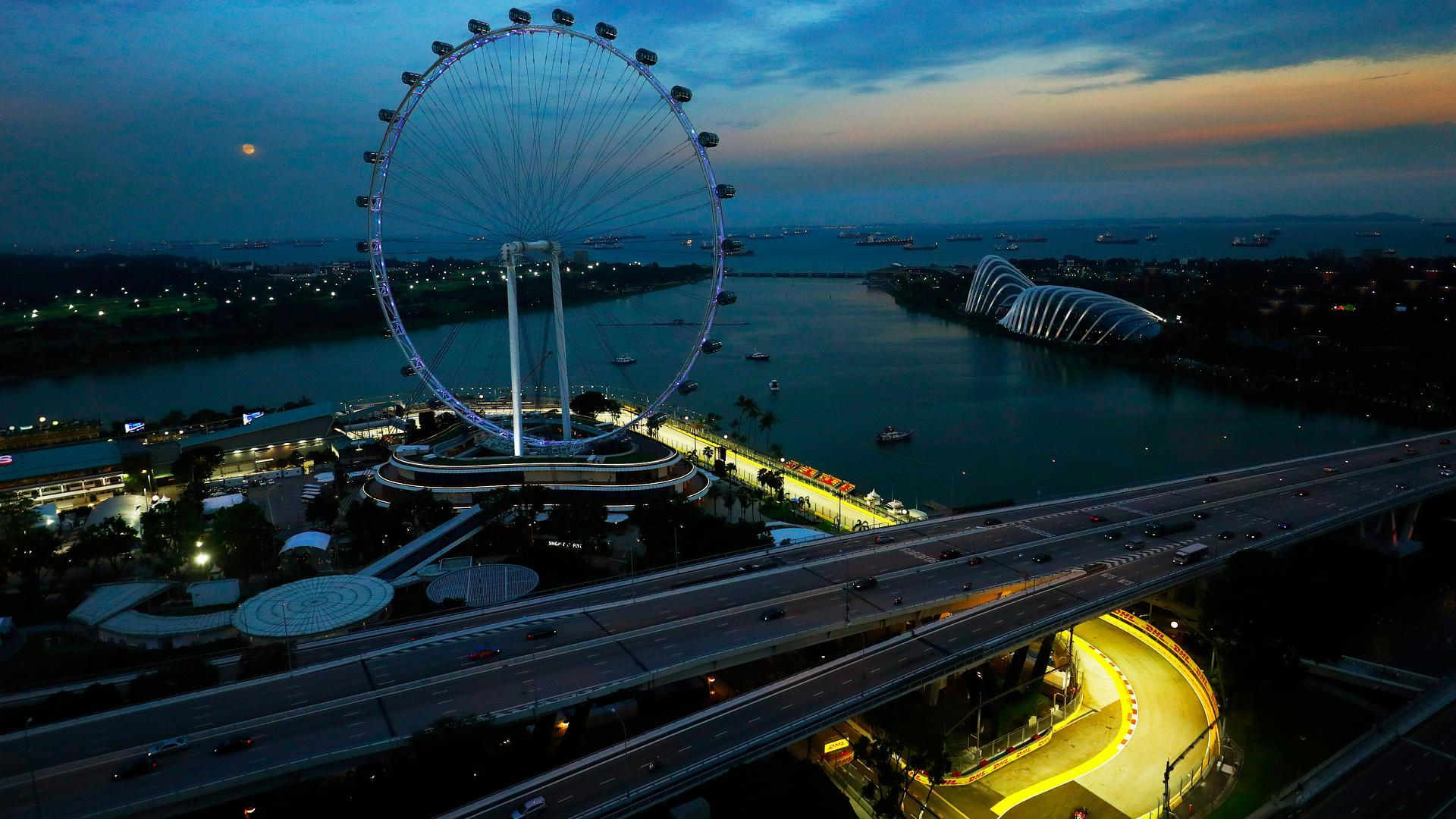Circuito Singapur : Los horarios del gp de singapur 2017 de f1