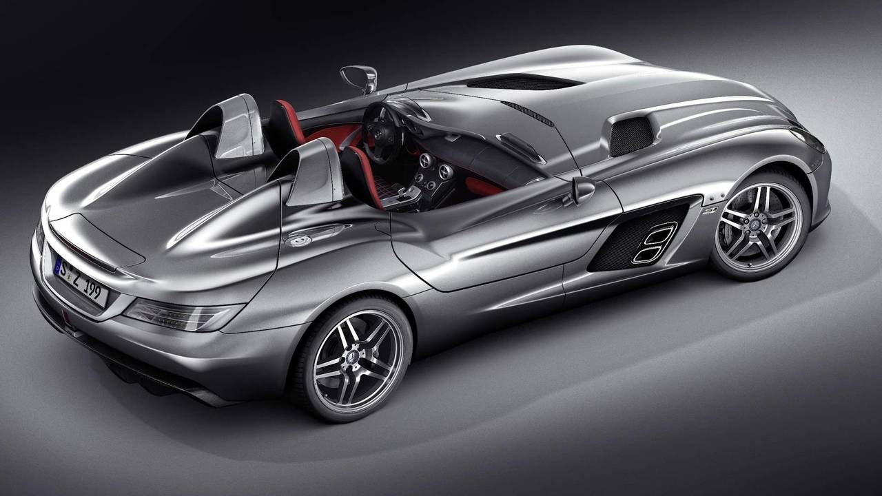 Mercedes McLaren SLR Stirling Moss – 220mph