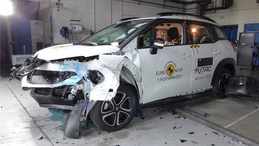 Le Citroën C3 Aircross brille dans l'épreuve du crash-test