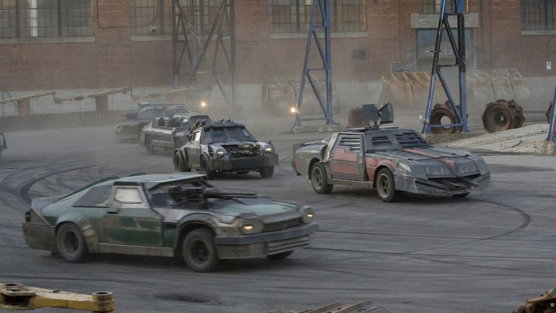Toyota Of Ames >> First Images of the Cars of Death Race
