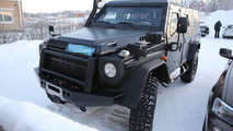 Mercedes G Class Light Armoured Patrol Vehicle