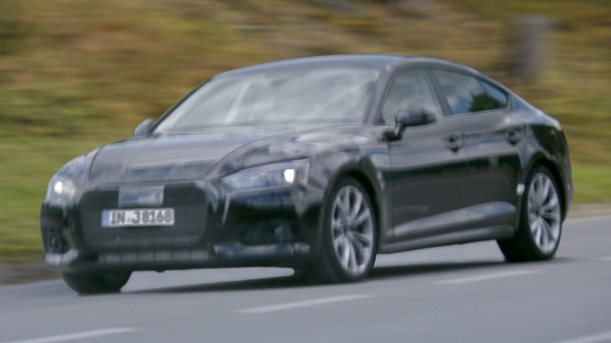 2017 Audi A5 Sportback Spied For The First Time No Surprises Here