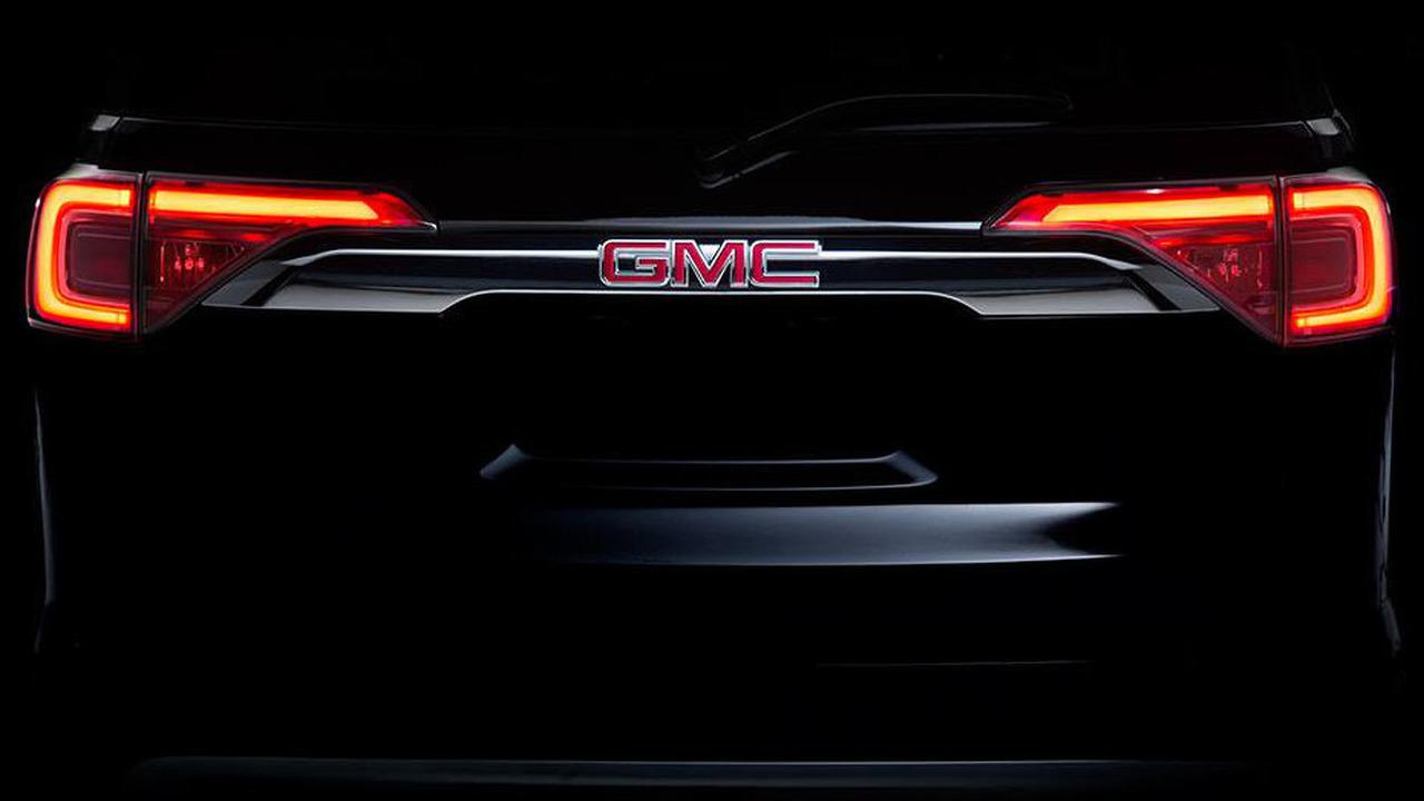 2017 GMC Acadia teaser