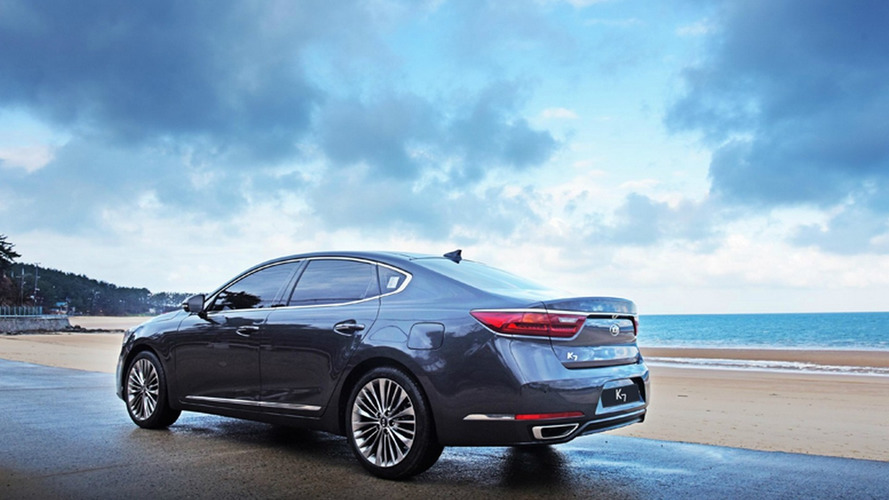 Best look yet at Kia's new Cadenza / K7 (66 pics, 3 videos)