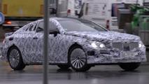 2017 Mercedes E-Class Coupe screenshot from spy video