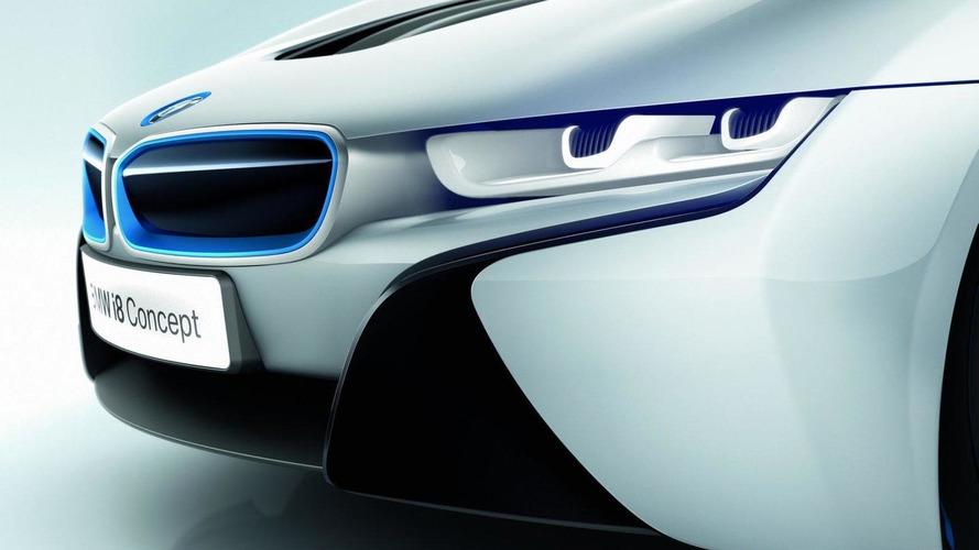 Bmw I8 Concept S Laser Lights New Details