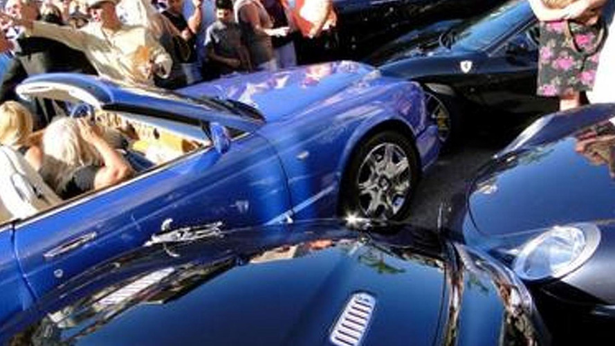 Luxury car carnage in Monaco - 5 exotics damaged