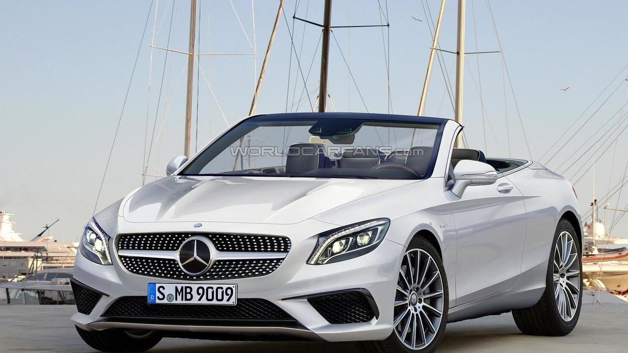 2016 Mercedes Benz S Cl Convertible Render
