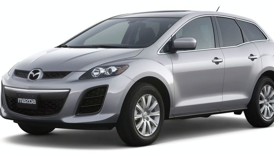 Mazda CX-7 Facelift Debuts in New York