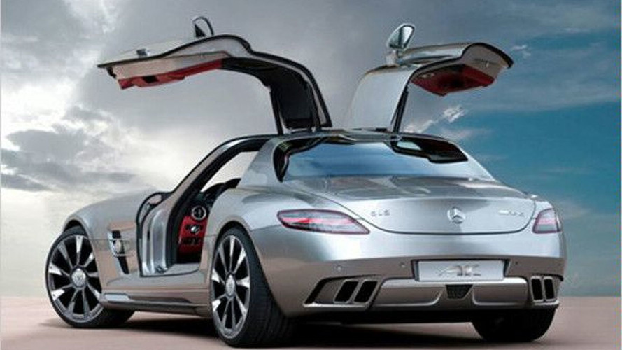 AK-Car Design styling illustration for Mercedes SLS AMG - 600